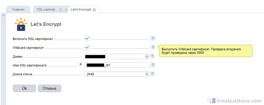 Wildcard Let's Encrypt
