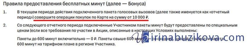 600 минут в месяц на звонки по России в Тинькофф Мобайл